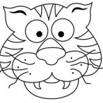 tiger mask coloring page (1)