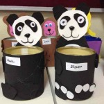 tin can panda craft for kid