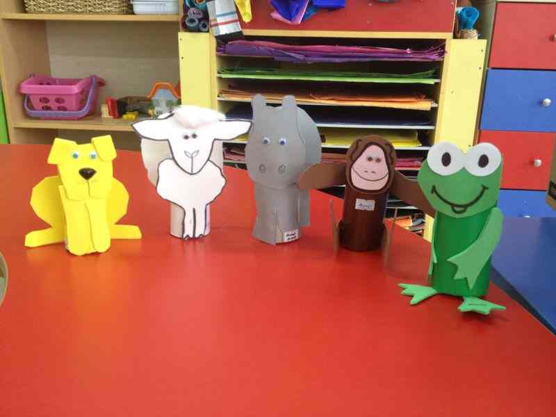 toilet paper roll animals craft
