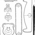 toilet paper roll  bear craft