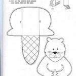 toilet paper roll  beaver craft