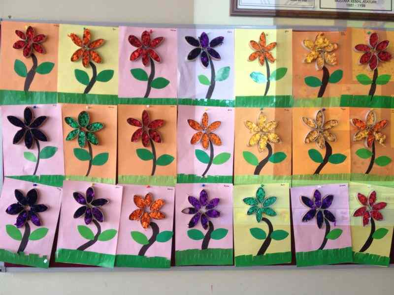 Toilet Paper Roll Flower Crafts And Worksheets For