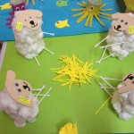 toilet paper roll lamb craft