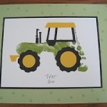 tractor footprint_crafts