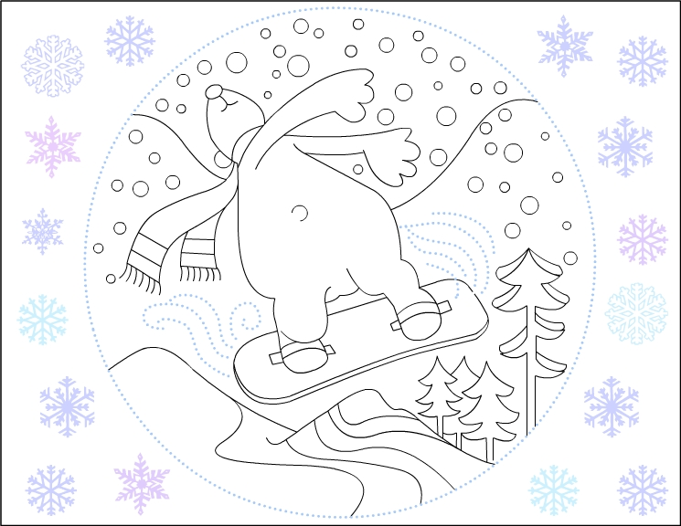 winter season coloring page for kids (1)