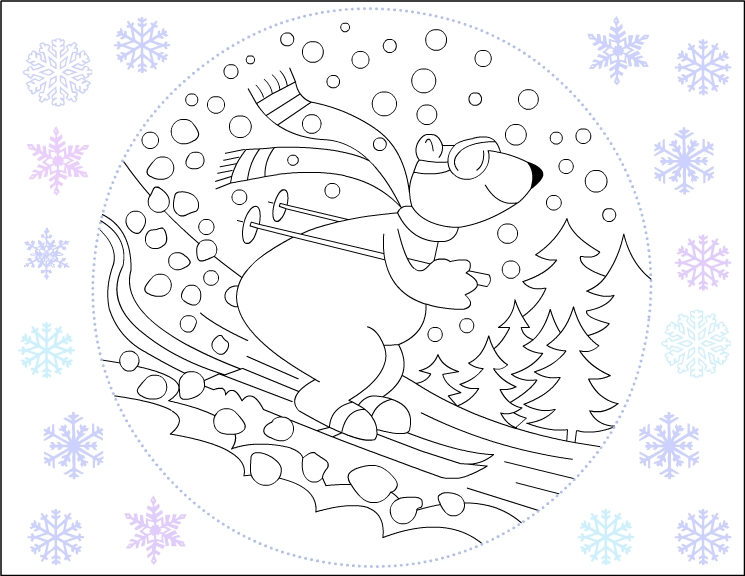 winter season coloring page for kids (4)