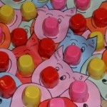yogurt cup pig craft