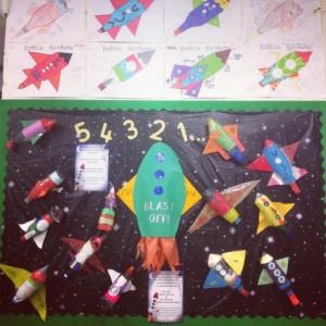 Rocket craft idea for kids Crafts and Worksheets for