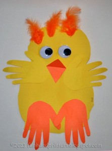Chick crafts for kids Crafts