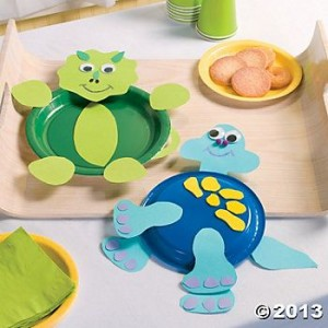 Dino Plates craft idea