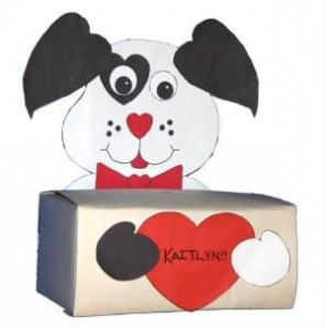 Dog Valentine's Day Mailbox