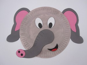 Elephant-Paper-Plate & Animal paperplate craft ideas for preschool   Crafts and Worksheets ...