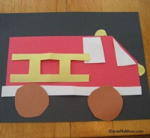 Fire Truck Craft  1