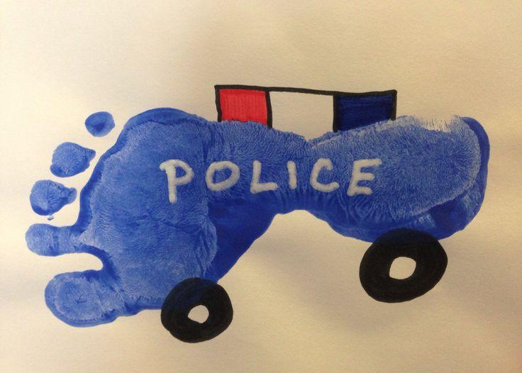 Police Craft Activities For Preschoolers