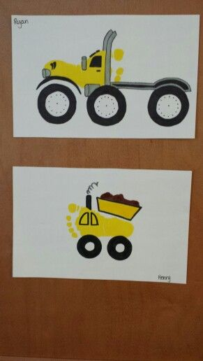 Crafts actvities and worksheets for preschool toddler and for Tractor art projects