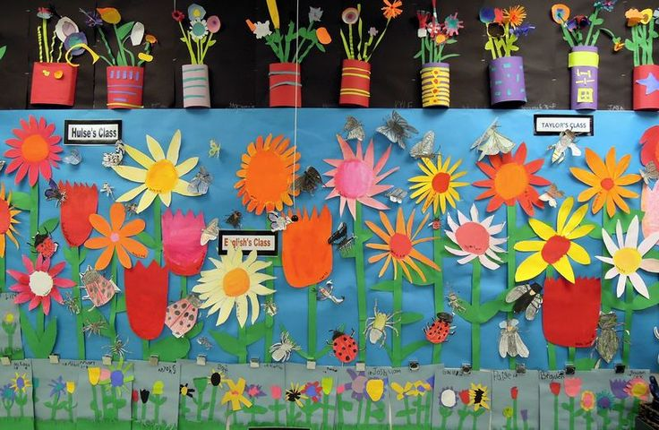 plants bulletin board