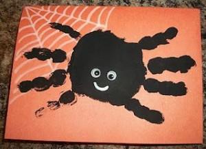 Hand Print Spider
