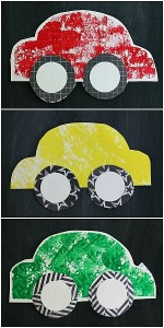 Paper Car Craft for Kids