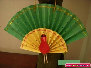 Peacock_paper_craft