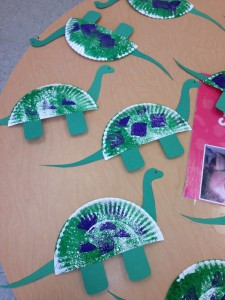 Preschool Craft Dinosaurs