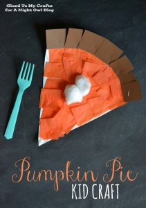 Pumpkin Pie Kids Craft