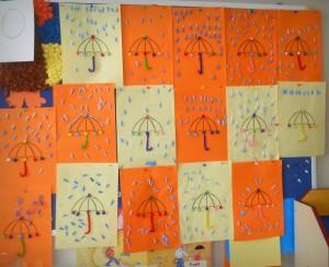 Qtip Craft Idea For Kids
