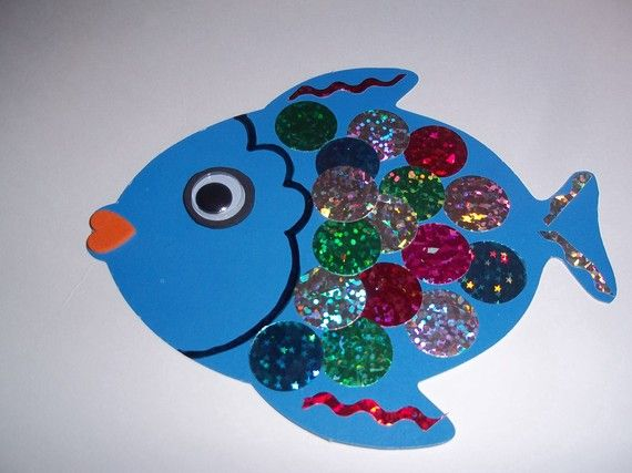 Crafts actvities and worksheets for preschool toddler and for Fish crafts for preschoolers