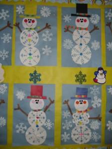 Snowflake Snowmen