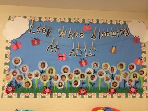 Spring Bulletin Board for Preschool