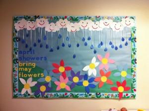 Spring bulletin board 1
