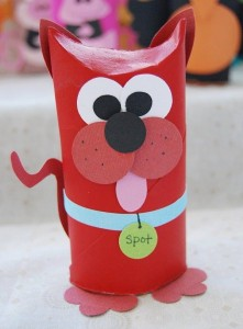 Toilet Tube Animals craft