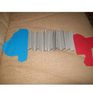 accordion dog craft