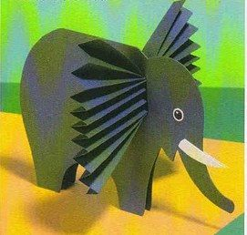 accordion elephant craft1