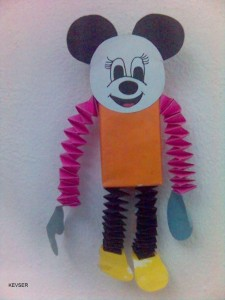 accordion mickey mouse craft