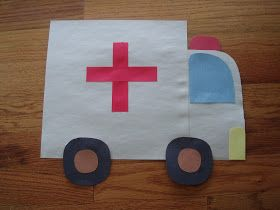 ambulance craft for kids