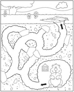 animal maze worksheets (1)