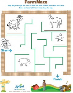 animal maze worksheets (26)