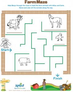 animal maze worksheets (26)