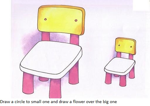 Big or small activity sheets and worksheets : Crafts and ...