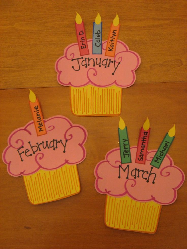 Cupcake And Birthday Cake Craft Idea For Kids Crafts