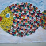bottle cap fish craft for kids 1