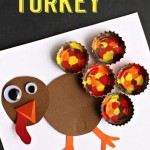 bottle cap turkey craft