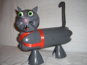 bottle cat craft