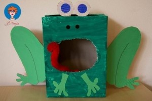 box frog craft