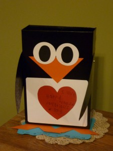 box penguin craft