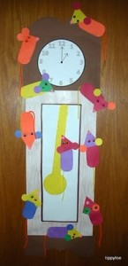 bunny clock craft for kids (3)