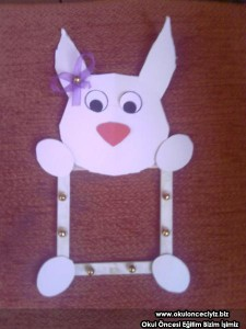 bunny frame craft