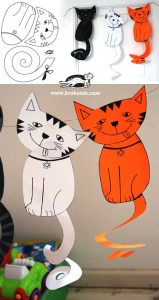 cat craft idea for kids (2)