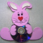 cd bunny craft