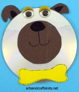 cd dog craft